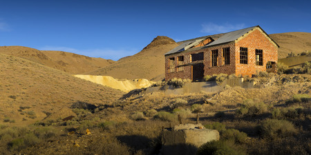 pershing: Tunnel Camp Ghost Town in Nevada Desert