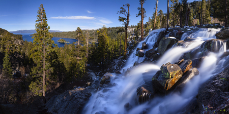 Eagle Falls and Emerald Bay Lake Tahoe, California