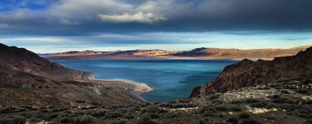 Walker Lake, Nevada Stock Photo