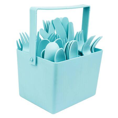 Plastic Cutlery Set Cutout