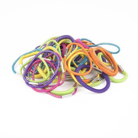 Colorful Hair Bands Cutout Stok Fotoğraf