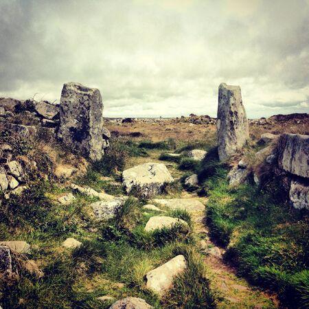 iron: Chun Castle Remains  Penwith Cornwall