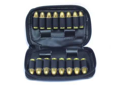 bombshell: a bag of bullets of 9mm