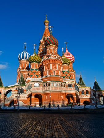 Cathedral of Basil the blessed, Moscow, Russia Stock Photo - 9078951