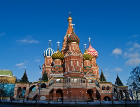 Cathedral of Basil the blessed, Moscow, Russia Stock Photo - 9078935