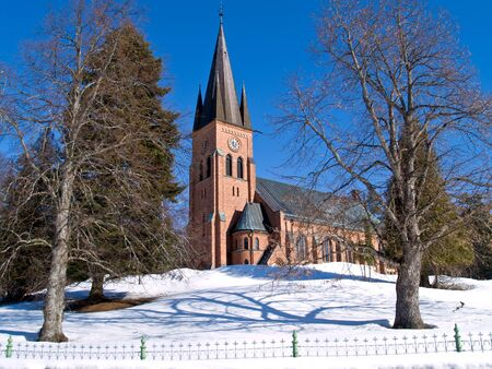 new church Alno, northern Sweden photo