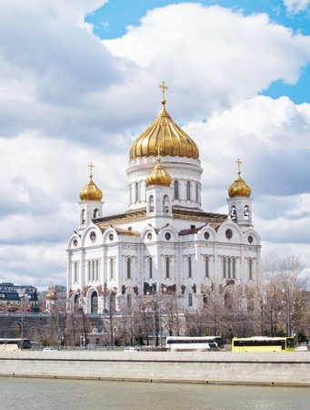 cathedral of the Christ the Savior, Moscow, Russia  photo