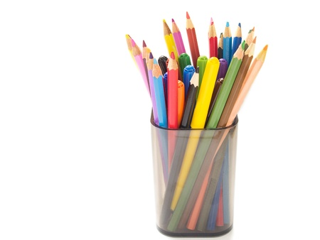 multicolored pencils photo