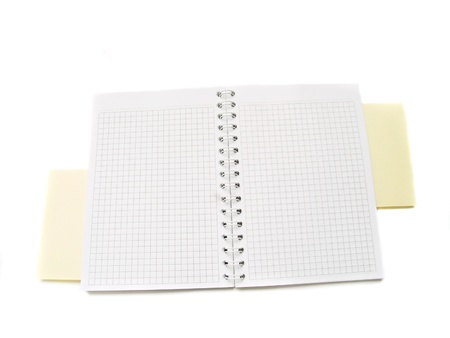 blank notepad Stock Photo - 9952757