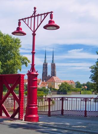 dolnoslaskie: old town of Wroclaw (island Tumski), Poland