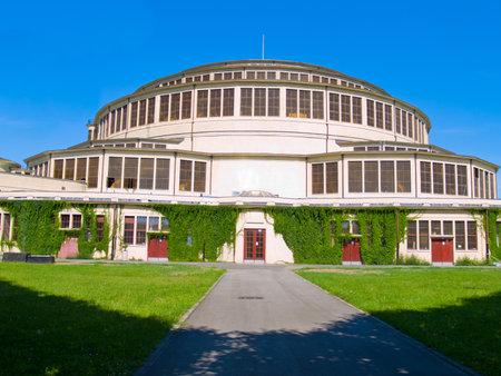 centennial: Centennial Hall (Hala Ludowa) a Wroclaw, in Polonia