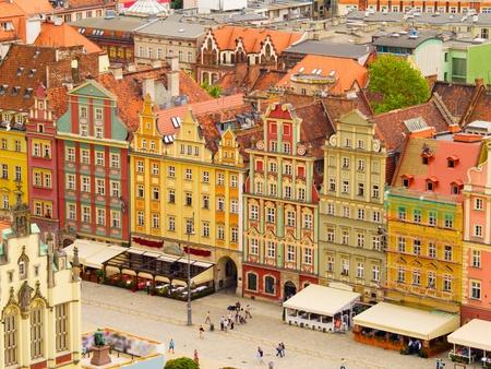 wroclaw: market square, Wroclaw, Poland
