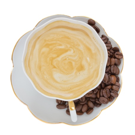 cup of cappuccino photo