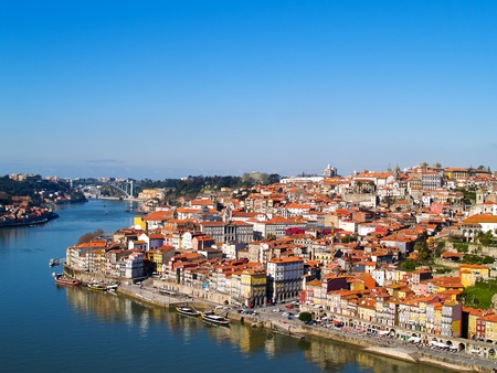 porto: panorama of Porto, Portugal