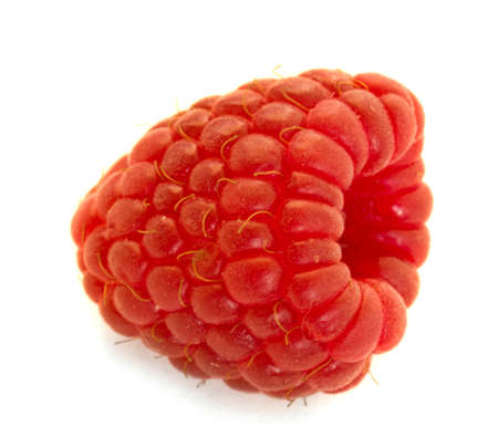 raspberry isolated over white background Stock Photo - 10779380