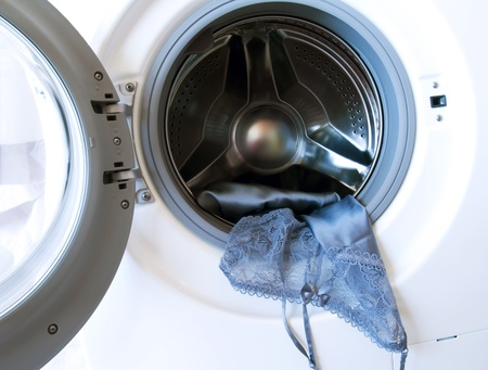 launderette: delicate washing