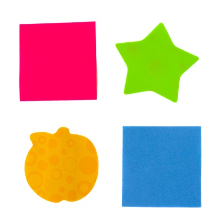 multicoloured post it notes Stock Photo - 11774690