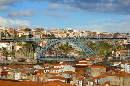 bridge Dom Luis I, Porto, Portugal photo