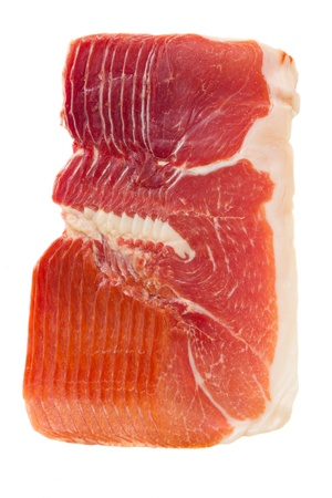 cured: spanish cured ham - jamon serrano Stock Photo