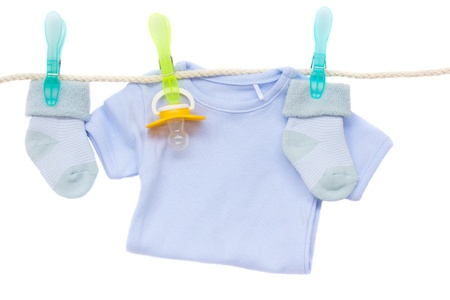 baby blue clothes photo