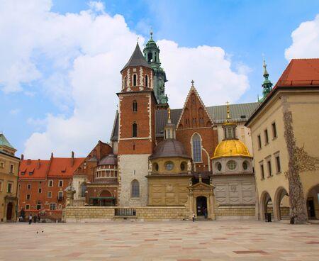 wawel: Wawel Cathedral, the part of Wawel Castle complex in Krakow, Poland