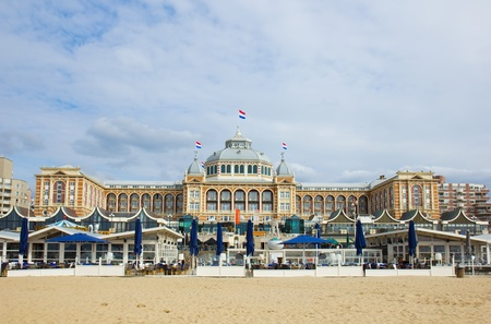 Kurhaus  in Scheveningen, Hague, Holland Stock Photo