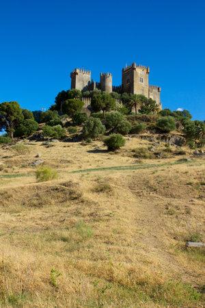 castle of Almodovar del Rio on the hilltop, Cordoba, Spain Stock Photo - 14148453