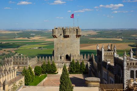towers of  of Almodovar del Rio castle, Cordoba, Spain Stock Photo - 14260202