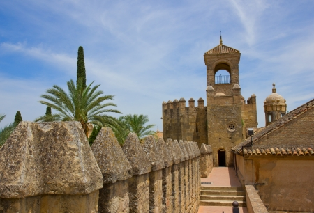 Palace Fortress of the Christian Kings  Alcazar de los Reyes Cristianos , Cordoba, Cordoba Province, Andalusia, Spain Stock Photo - 14296357