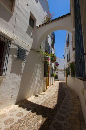 jewish quarter: street in old town jewish quarter, Cordoba, Spain