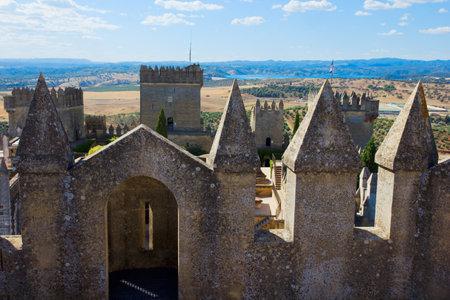 fotification of  of Almodovar del Rio castle, Cordoba, Spain Stock Photo - 14360015