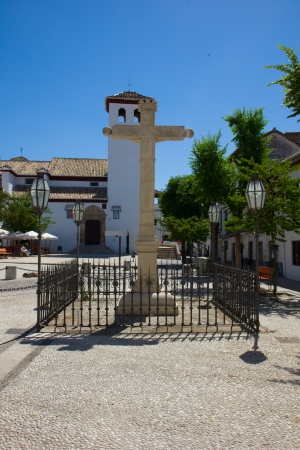 isabel: Church of Santa Isabel La Real in  Granada, Spain Stock Photo