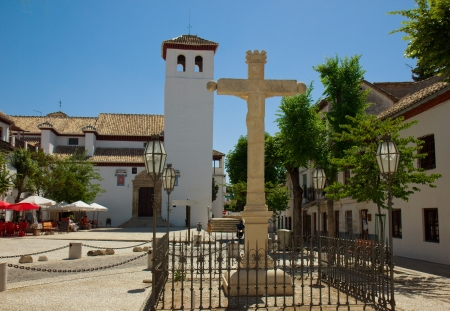 Church of Santa Isabel La Real, Granada, Spain Stock Photo - 14500459