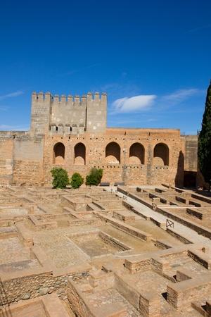 alcazaba: Alcazaba (citadel) of  Alhambra , Granada, Spain