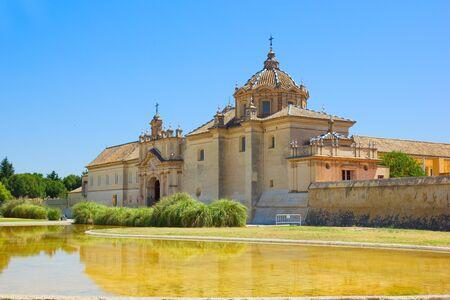 ex: Monastery of the Cartuja  Charterhouse , ex Ceramic tile factory, Sevilla, Spain Stock Photo