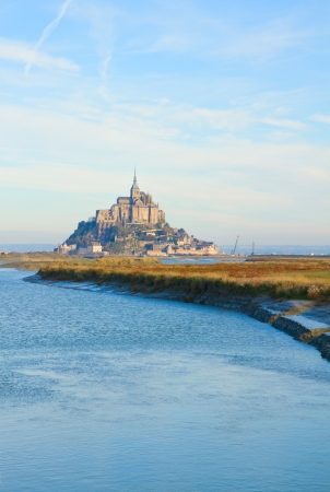 Mont Saint Michel, second most visited place in France. photo