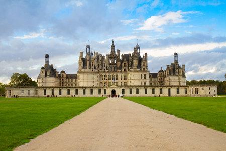 chambord: Chambord chateau, Pays-de-la-Loire, France