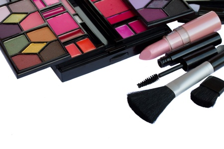 Make up cosmetics Stock Photo - 17580449