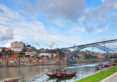 luis: Dom Luis bridge, Portugal Stock Photo