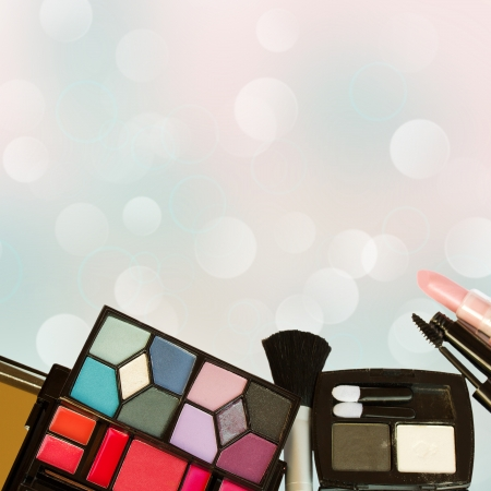 Set of various decorative cosmetics Stock Photo - 19450823