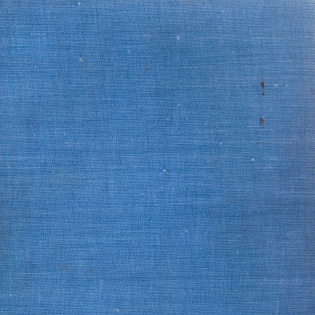 cross hatched: background of old blue hardcover book cloth texture
