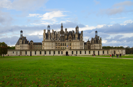 chambord: Chambord castle  in the Loire Valley, France