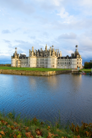 chambord: Chambord chateau  in the Loire Valley, France Editorial