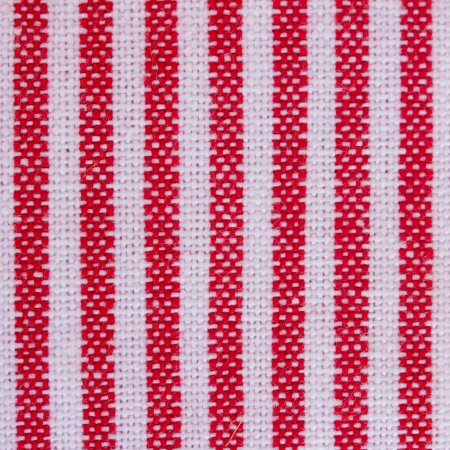blue  and red  stripes  fabric closeup , tablecloth texture photo