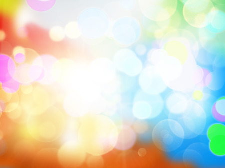 Gleaming festive birthday background with bokeh sparcle photo