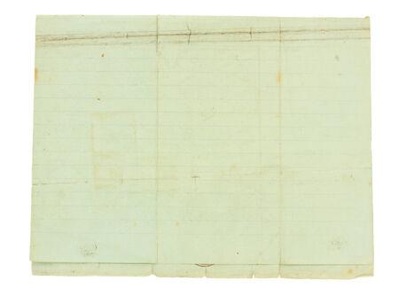 foglio a righe: sfondo con texture di vecchia carta blu ha stabilito su bianco