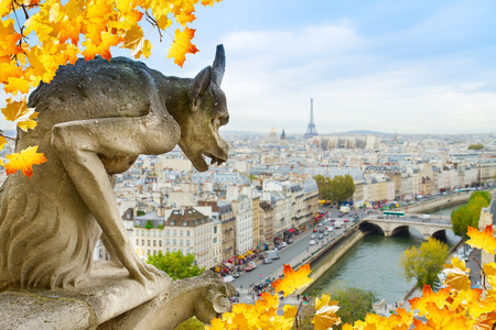 Gargoyle of  Paris photo