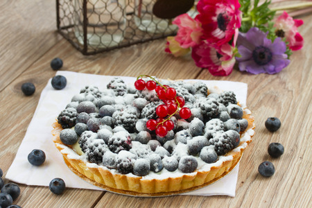 blueberry pie: