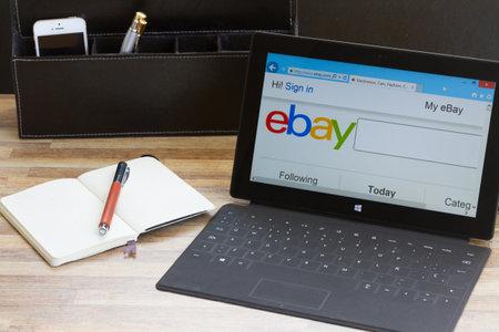 Ebay search page