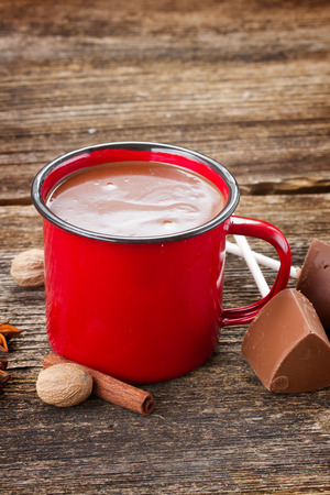 cup of hot chocolate photo
